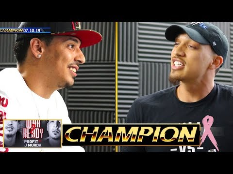 FACEOFF - J MURDA VS PROFIT - BATTLE ACADEMY | CHAMPION