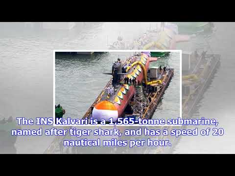 Ins kalvari: prime minister narendra modi dedicates india's first new diesel-electric submarine in