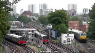 6 Tracks; 8 Trains; 2 Minutes!