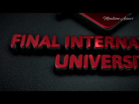 Final international university interview with people