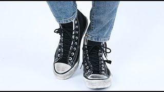 롤프 남성 컨버스 남자 운동화 캔버스 신발 지퍼 빈티지…