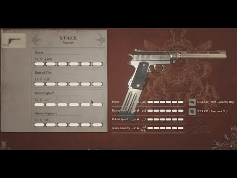 Resident Evil Village - How To Get The S.T.A.K.E. Magnum + Infinite Ammo (best Gun)