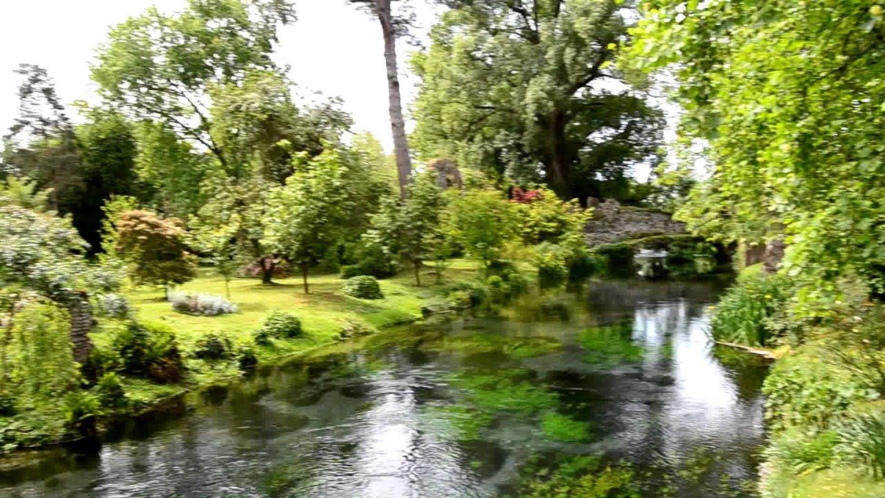 Latina Giardini Di Ninfa In Maggio Youtube