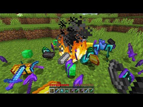o fogo dropa itens op no minecraft