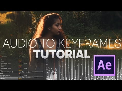 Audio to Keyframes Tutorial - Sync any effect to audio!