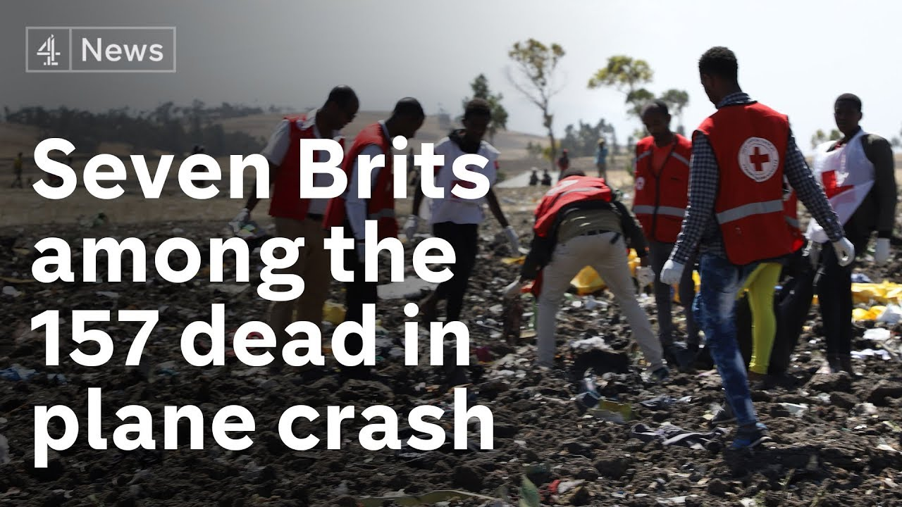 Seven Britons among 157 killed in Ethiopian Airlines plane crash