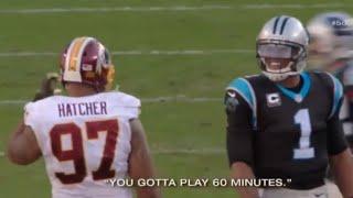 NFL Best Trash Talking Moments🙀🏈😂 l Cam Newton Gets Threatened