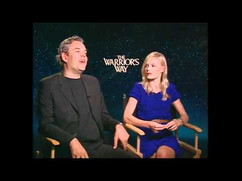 Kate Bosworth and Danny Huston on THE WARRIOR'S WAY