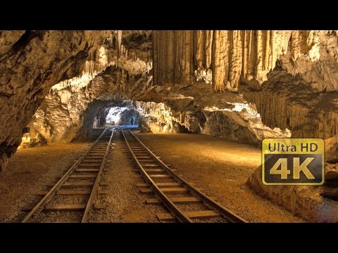 Postojna Cave Train ride [4K]