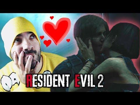 LEON Y ADA SE BESAN   RESIDENT EVIL 2 REMAKE / BIOHAZARD (RE:2)  #5 ⭐️ iTownGamePlay