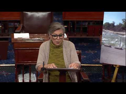 Senator Barbara Boxer speaks on Senate Floor on the Water Resources Development Act of 2016
