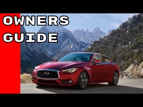 Complete 2017 Infiniti Q60 Owners Manual Guide