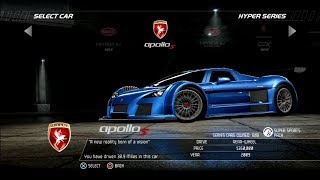 Need For Speed Hot Pursuit: Gumpert Apollo S (Test Drive)
