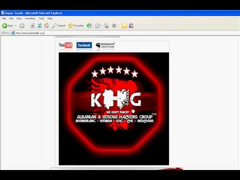 BorisTadic.org & SerbianCafe.com Hacked by Kosova Hackers Group (KHG)