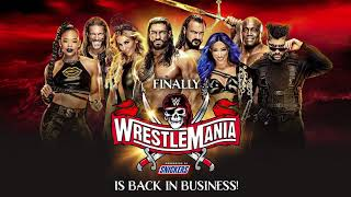 WWE WrestleMania 37 Theme Song Save Your Tears (Arena Effects)