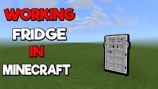 minecraft fridge mods working
