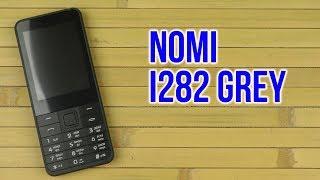 Розпакування Nomi i282 Grey