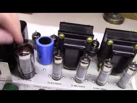Another Pilot 232 EL84 Tube Amplifier Project - BG041