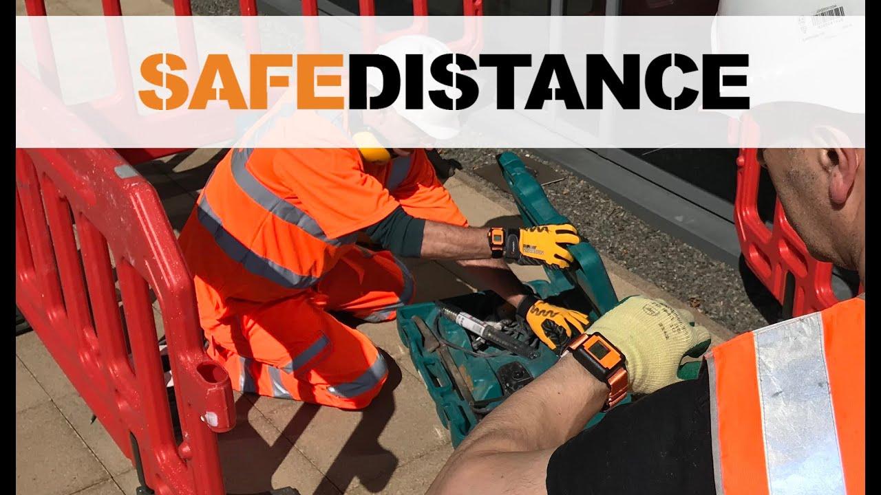 Reactec Safe-distance Wearable Technology