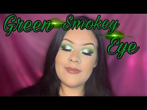 Green Smokey eye ~~ Jefree Star X Morphe ~~Vivian Cisneros~~ thumbnail