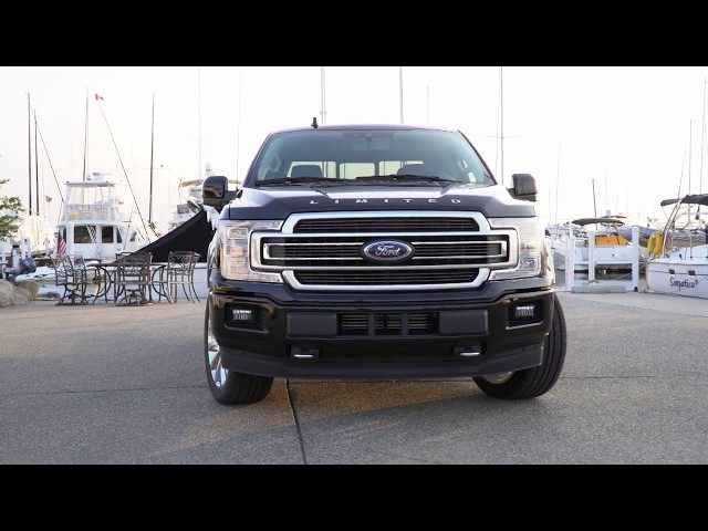 The brand-new 2019 F-150 Limited