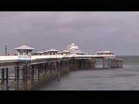 Llandudno, Promenade, Beach and Pier, Wales UK
