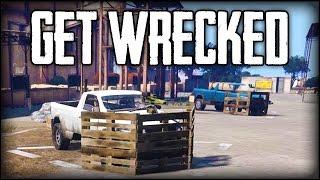 ROBLOX MEETS ARMA?! - Arma 3 Get Wrecked Gameplay ► Custom Vehicle Battle