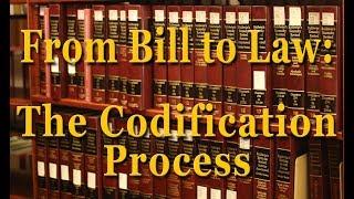 Codifying and consolidating statutes pronunciation