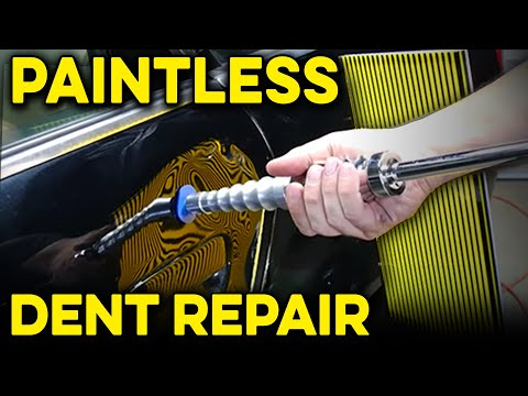 How To Remove Dents With PDR Tools