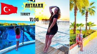 Анталия Турция погода и море в ноябре Отдых в Турции все включено Отель 5 Влог