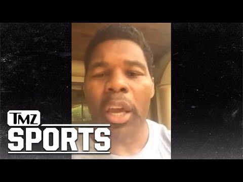 Herschel Walker: I'm With Trump, NFL Should Ban Kneeling! | TMZ Sports
