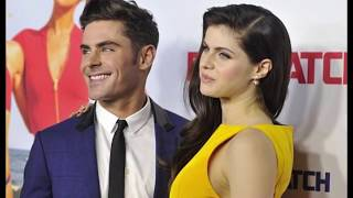 Зак Эфрон и Александра Даддарио 2018★Zac Efron and Alexandra Daddario 2018