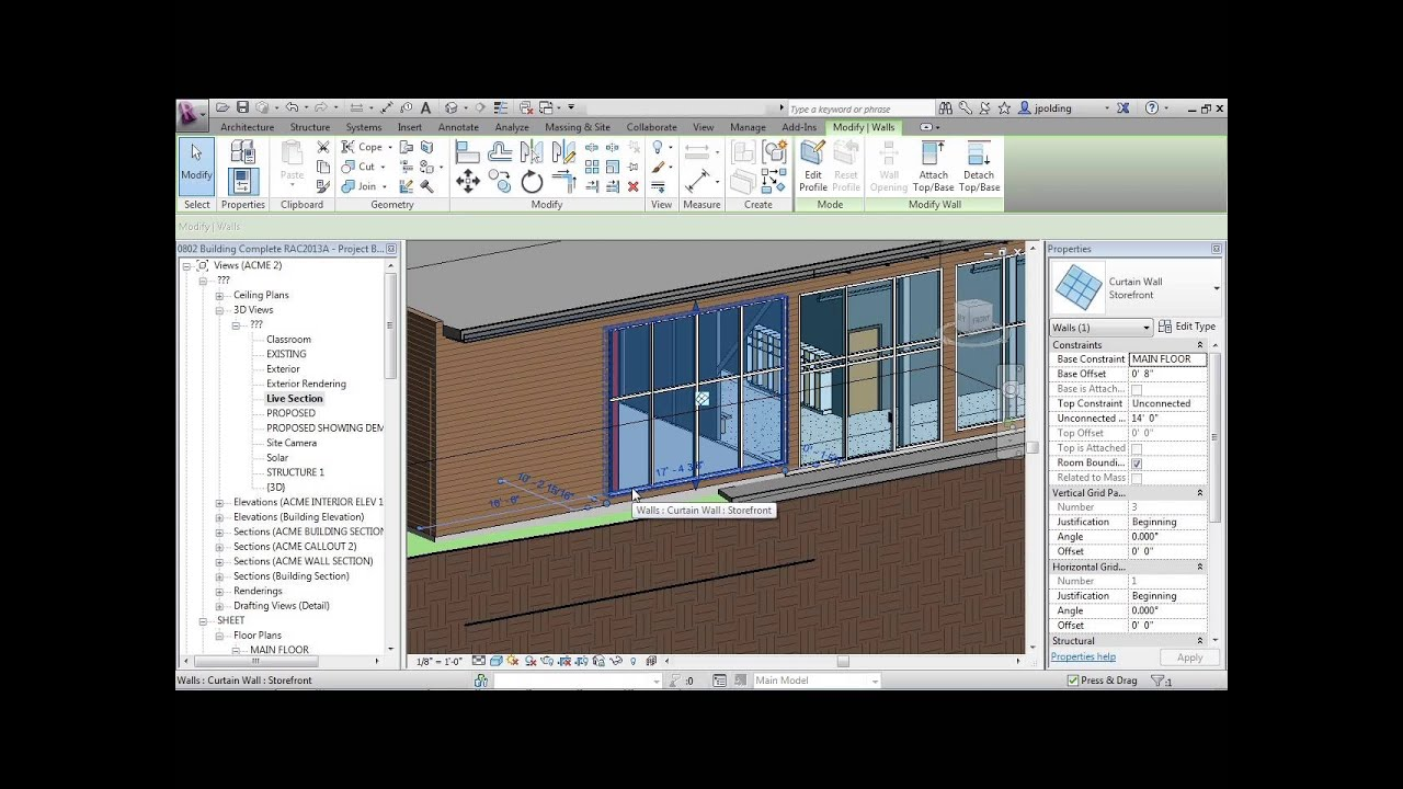 Advanced Revit Architecture 2013 Tutorial Make Window