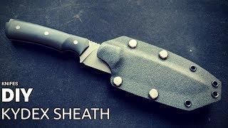 Knife Making - Kydex Sheath for 'Black One'