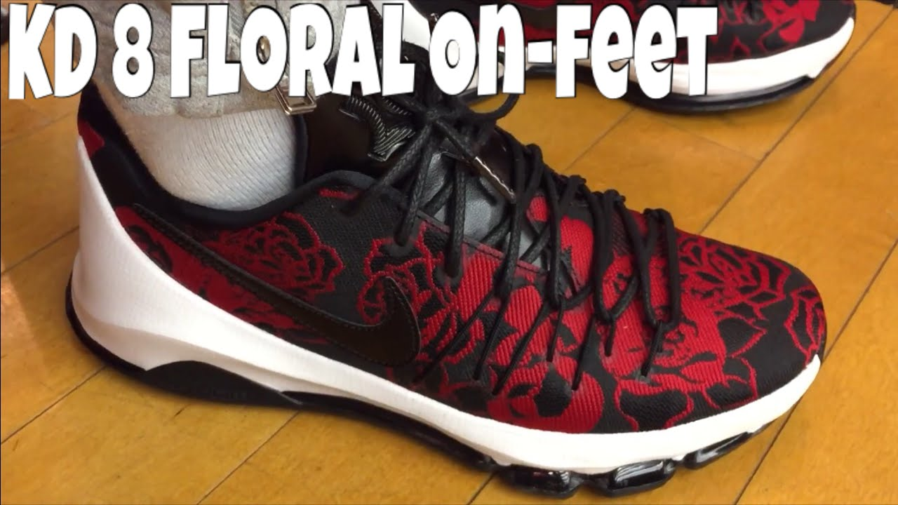 12a8a9829139 Nike KD 8 Floral EXT