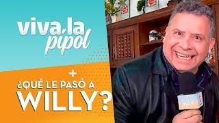 Willy Sabor sufrió un divertido chascarro en la casa de la tía Yoli - Viva La Pipol