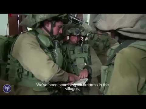 Close Up: IDF Soldiers Search for Kidnapped Teens #EyalGiladNaftali