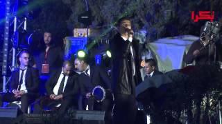 حفلة محمد عساف في الكريسماس ماركت الناصرة Mohammad Assaf Nazareth Christmas Market 2014