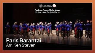 PSM UGM - Paris Barantai (Arr. Ken Steven) | The 14th Busan Choral Festival & Competition