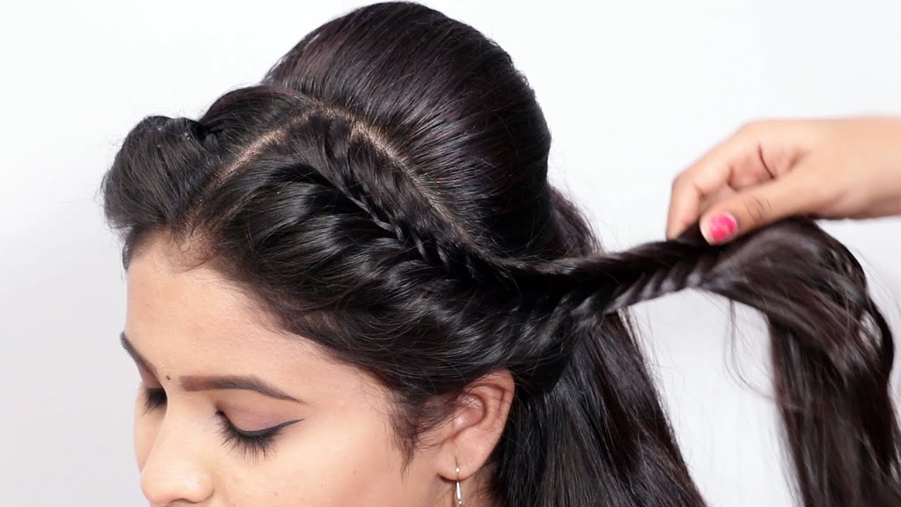 New Amazing Wedding Hairstyle with Easy Trick | Party Hairstyle/Function Hairstyle
