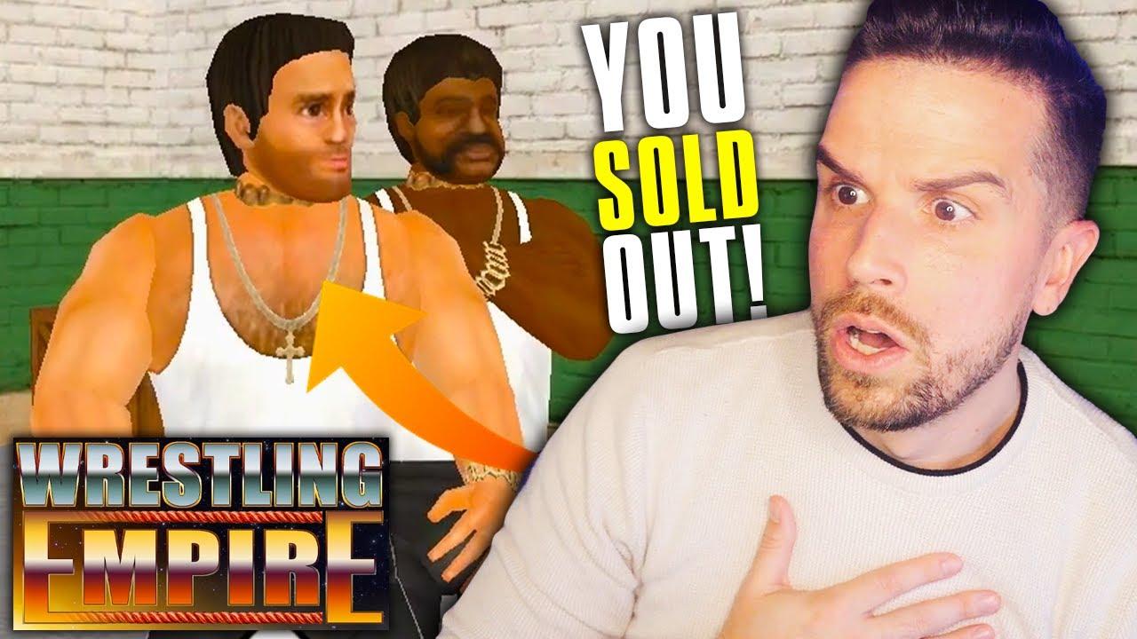 I Made Chris Danger a Sell Out in Wrestling Empire Career Mode!