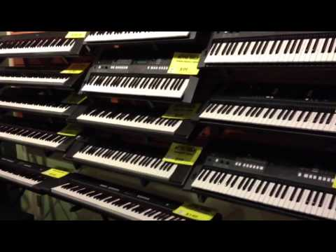 Jack's Bargain Attic Sale, Toronto.  Keyboard Specials!