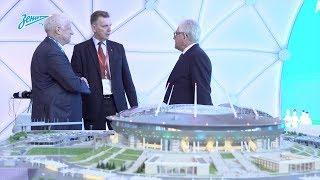 «Зенит-ТВ»: сине-бело-голубые на Петербургском международном экономическом форуме