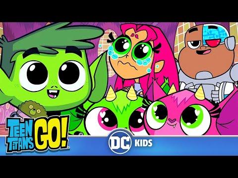 Teen Titans Go! en Français   Trop Mignon!   DC Kids