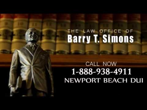 Newport Beach DUI Lawyer, DUI Attorney Newport Beach