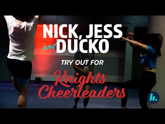 Newcastle Knights Cheerleading Tryouts | Hit106.9 Newcastle