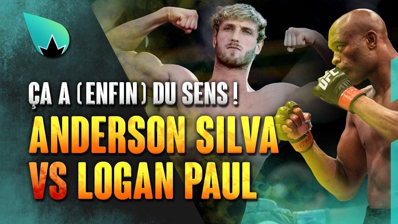 Anderson Silva vs. Logan Paul en discussions : AH!
