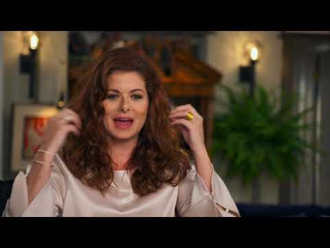 "Will & Grace: Premiere || Debra Messing - ""Grace Adler"" Interview || SocialNews.XYZ"