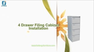 How To Install A Metal Filing Cabinet (jf-v004)