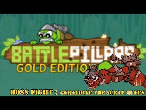 Battlepillars Gold Edition - Boss Fight : Geraldine the Scrap Queen ᴴᴰ from YouTube · Duration:  4 minutes 35 seconds